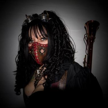 Steam Punk Woman Raider